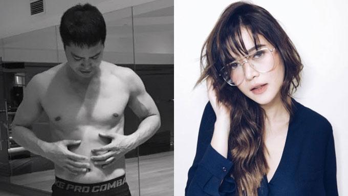 Bela Padilla reacts to Zanjoe Marudo's topless photo