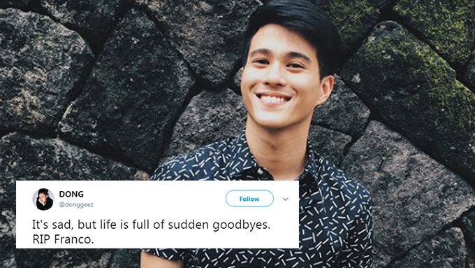 Franco Hernandez's accidental death shocks netizens