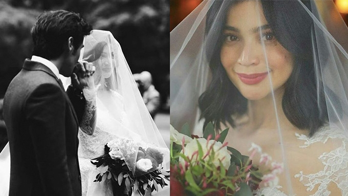 Anne Curtis and Erwan Heussaff now married