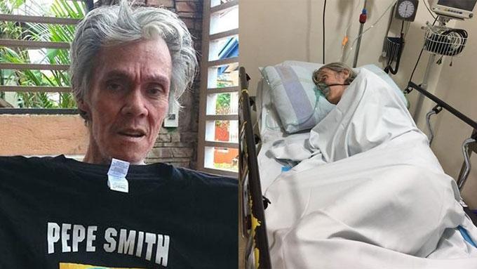 Rock legend Pepe Smith suffers third stroke