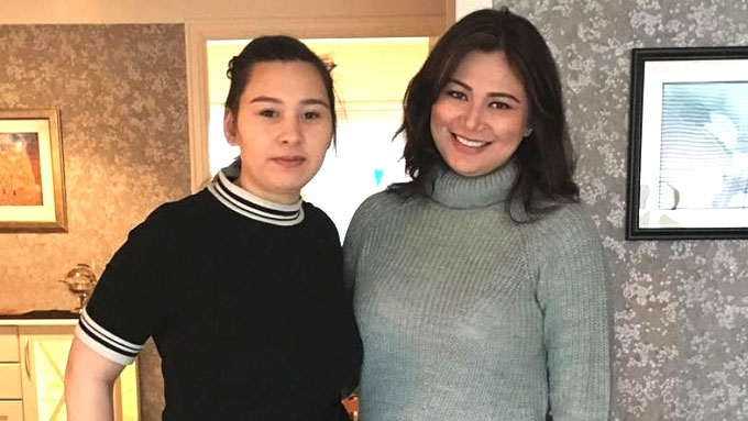 Francine Prieto finally meets Norwegian half-sister