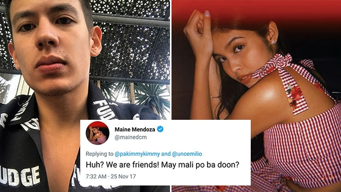 Maine Mendoza answers netizen asking about Jake Ejercito