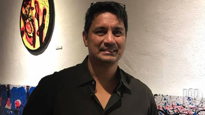 Richard Gomez tackles disasters in one-man art exhibit