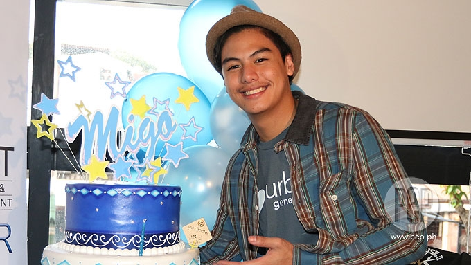 Migo Adecer turns 18; comments on premarital sex
