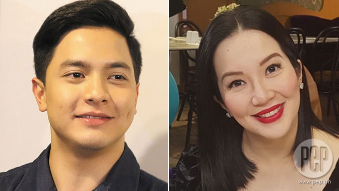 Kris Aquino swoons over Alden Richards: