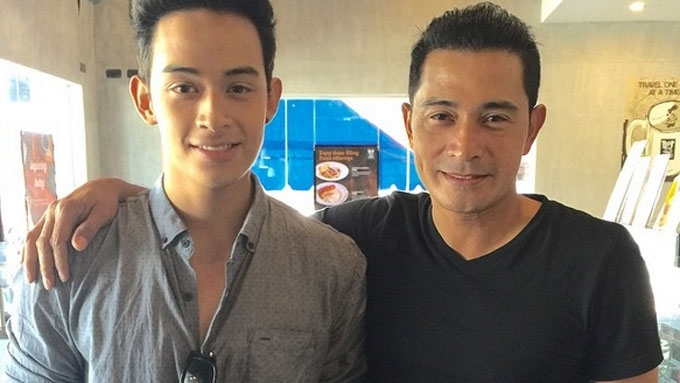 Diego Loyzaga and dad Cesar Montano bury the hatchet