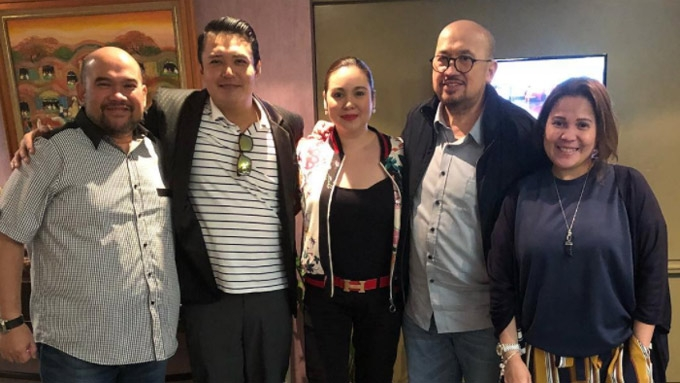 Claudine Barretto and Mark Anthony Fernandez reunite