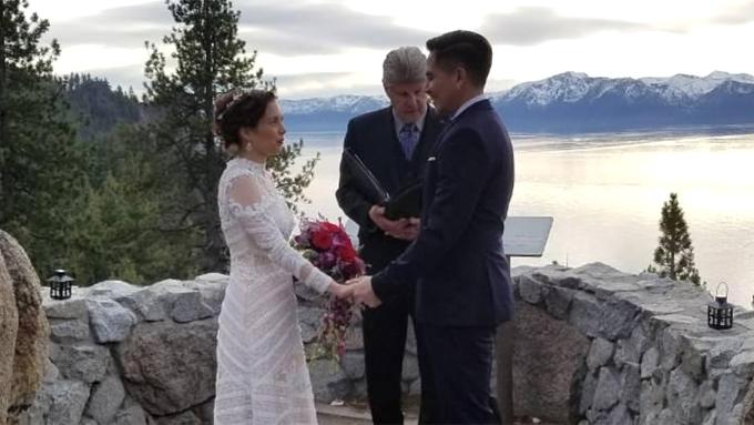 Desiree del Valle, Boom Labrusca tie the knot in the U.S.