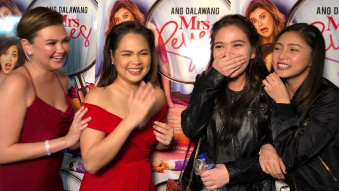 Kim Chiu fangirls over Judy Ann Santos at movie premiere