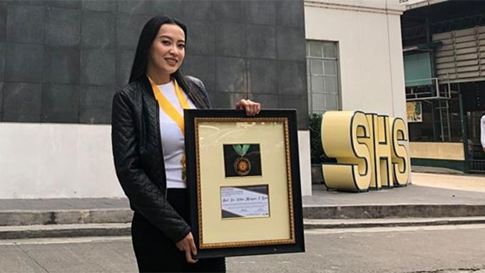 Mocha Uson honored by UST Alumni; student council dismayed