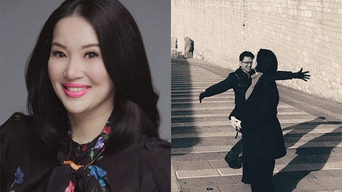 Kris posts photo of rendezvous with Mayor Herbert in Italy