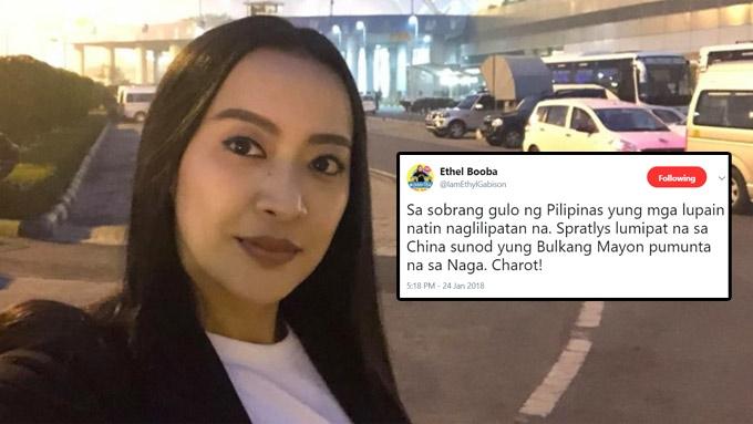 Lea, Enchong, Ethel react to Mocha Uson's Mayon boo-boo