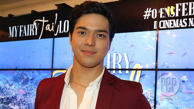 Elmo Magalona reacts to Jenine Desiderio's gatecrasher post