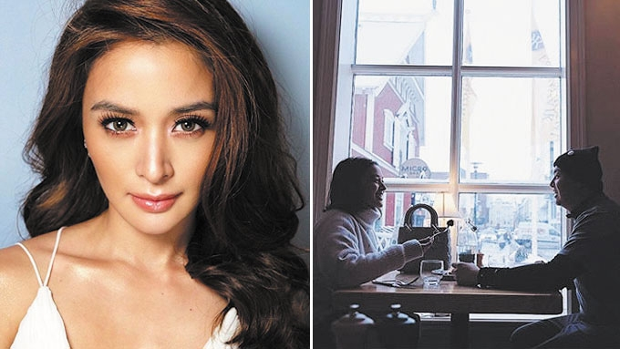Kris Bernal travels to Iceland with rumored boyfriend