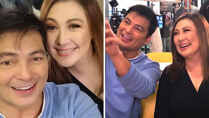 The most kilig reactions to Sharon-Gabby reunion