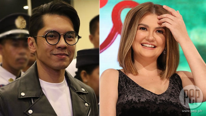 Did Angelica Panganiban and Carlo Aquino go out on V-Day?