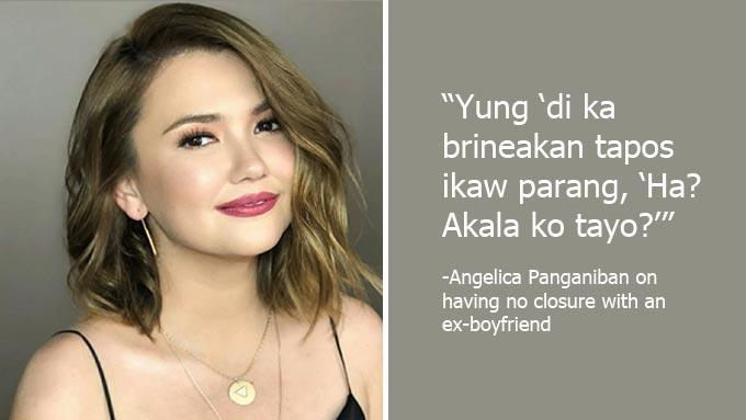 Angelica Panganiban reveals more hugot against ex-boyfriend