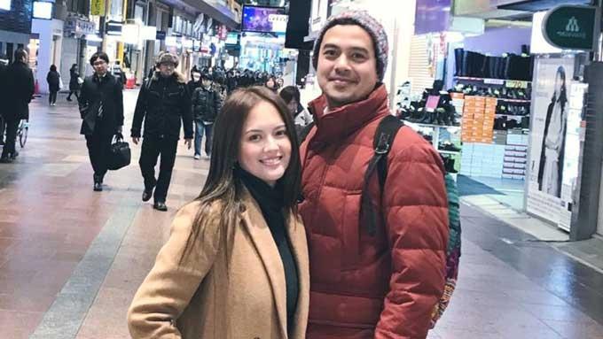 Ellen Adarna posts photo with John Lloyd Cruz in Japan