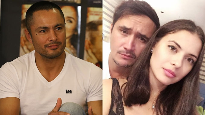 John Estrada gets support from wife Priscilla, friend Derek