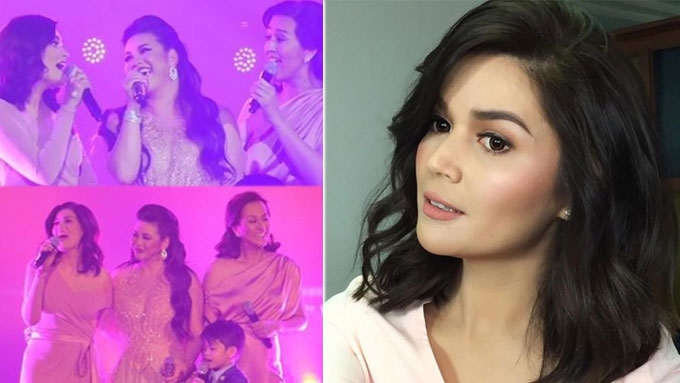Donna Cruz says no reunion project with Regine, Mikee