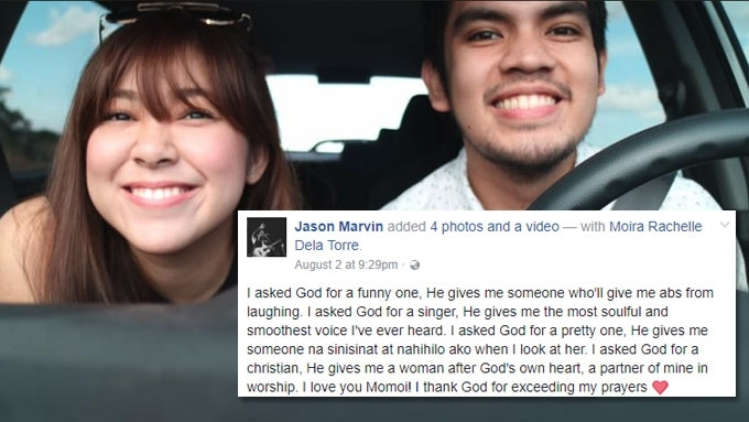 Moira dela Torre shares love story with BF Jason Marvin