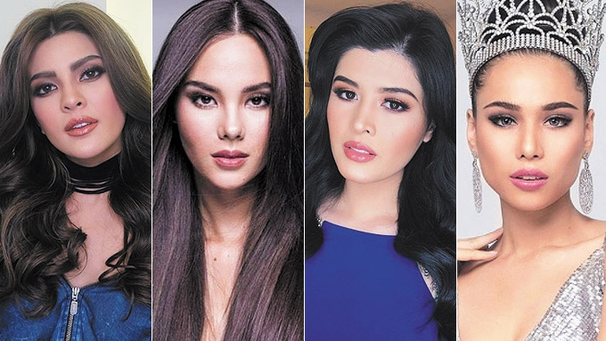 Beauty queens defend Mariel de Leon on issue with Catriona