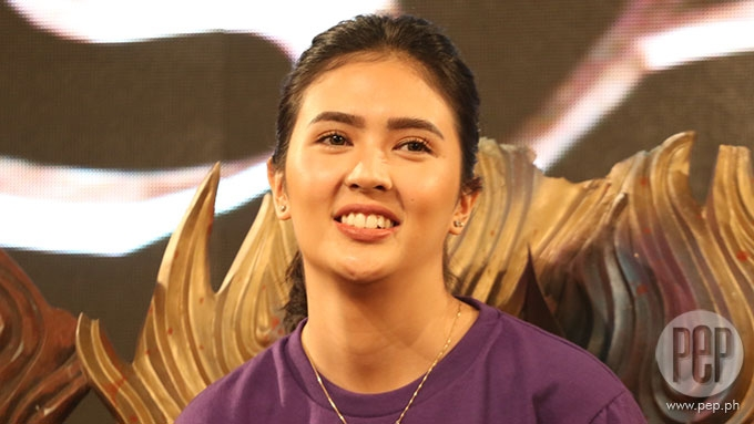 Sofia Andres cautious now during press interviews