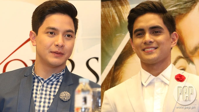 Did Juancho Trivino flash dirty finger at Alden Richards?