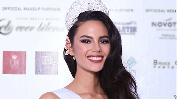 Catriona Gray admits joining Binibining Pilipinas was risky