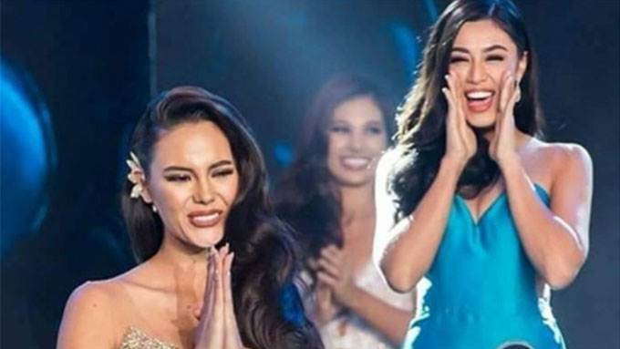 Catriona backs Sandra in question-and-answer mishap