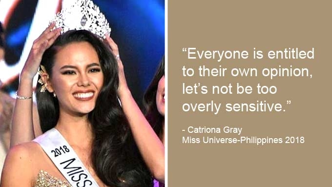 Catriona unfazed by Maggie, Bea Rose taking a swipe at her