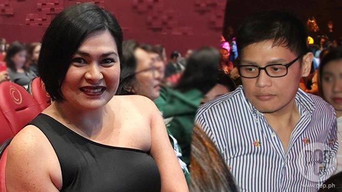 Aiko Melendez spotted with a date at Maja Salvador's concert
