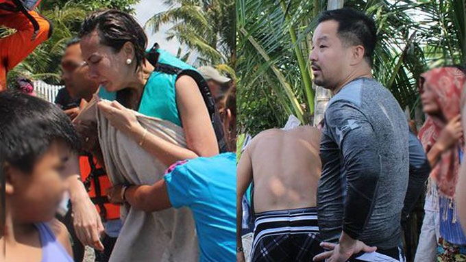 Bianca's mayor BF relates rescue efforts after boat accident