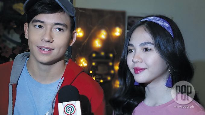 Janella Salvador defends team up with Jameson Blake
