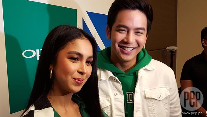 Joshua Garcia, Julia Barretto get over third-party issue