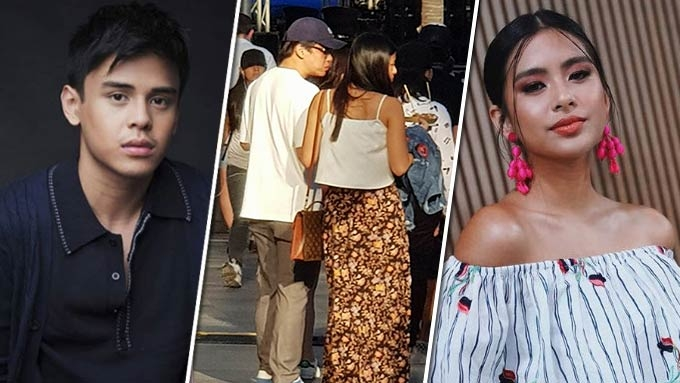 Gabbi Garcia spotted with Khalil Ramos at BGC