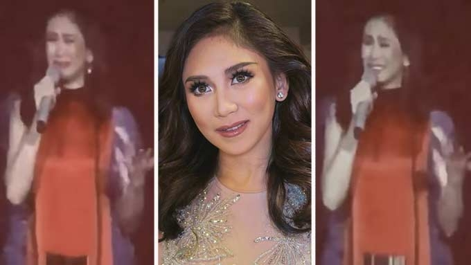 Sarah Geronimo breaks down at Las Vegas concert