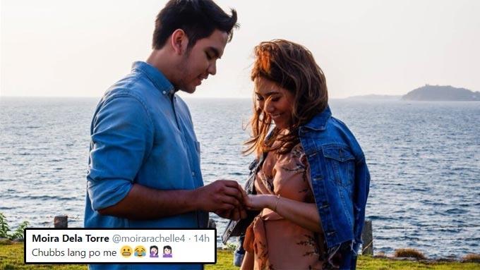 Moira dela Torre turns pregnancy rumor into a joke
