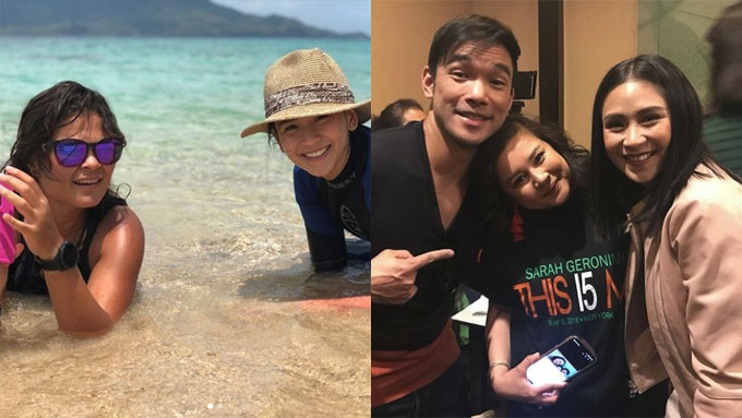 Sarah Geronimo gets message of support from Matteo's sister