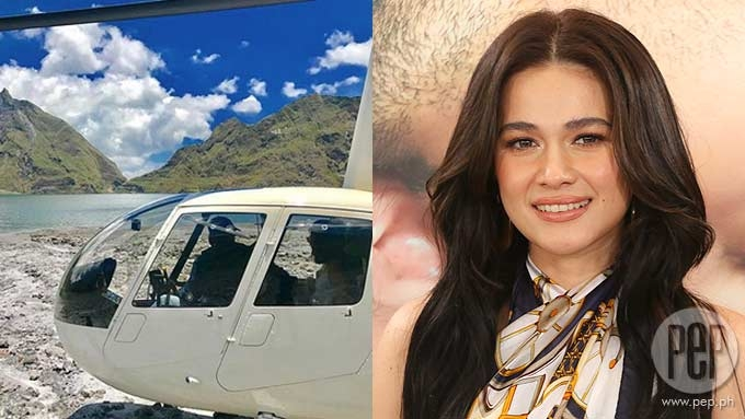 Bea speaks up about surprise chopper ride with Gerald