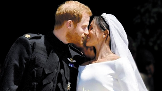 Prince Harry, former actress Meghan Markle now married