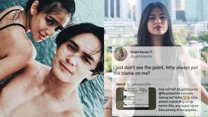 Gabbi slams netizen blaming her for GabRu love team breakup