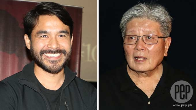 Mike de Leon takes a swipe at <em>Citizen Jake</em> star Atom Araullo