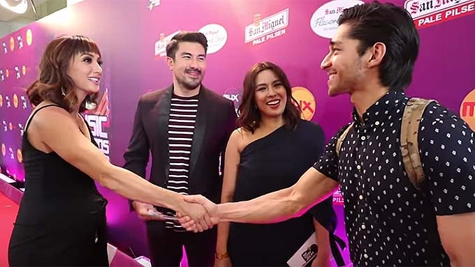 Wil Dasovich caught in awkward situation with Iya Villania