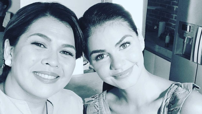 Lotlot confident daughter Janine can handle bashers