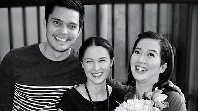 Kris Aquino thanks Dingdong Dantes for the support