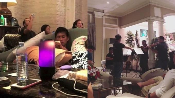 Ellen attends wake of her dad in Cebu with John Lloyd