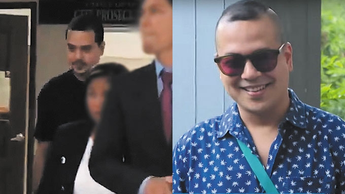 John Lloyd attends hearing of legal complaints vs. gf Ellen
