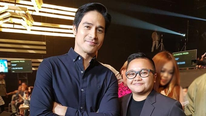 Ice Seguerra pokes fun at himself in picture with Piolo