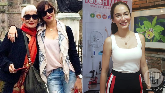 Jennylyn relates going through tough time after mom's death